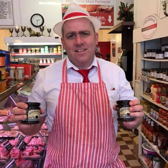 New Irish Black Butter stockist MacMahons Butchers Cookstown.