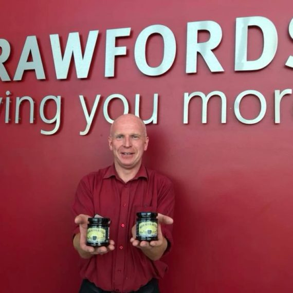 More Irish Black Butter has arrived with Dermot and Team at Crawfords Maghera