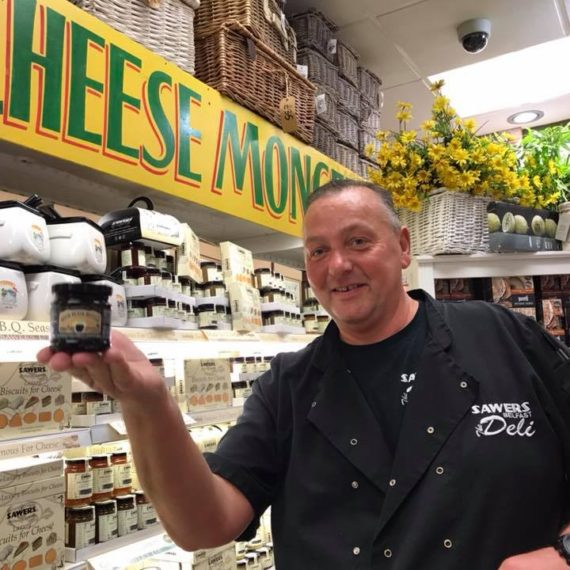 Kieran from Sawers Belfast gets his hands on Irish Black Butter
