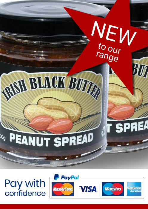 Irish Black Butter Peanut Spread